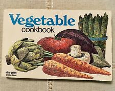 Vegetable Cookbook By Paul Mayer 1975 Nitty Gritty Productions Good Cond.