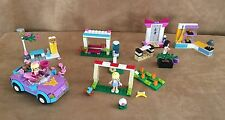 Lego Friends Lot 3 sets karate Soccer Practice convertible 41011 41002 3183