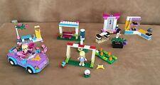 Lego Friends Lot 3 sets karate Soccer Practice convertible 41011 41002 3183