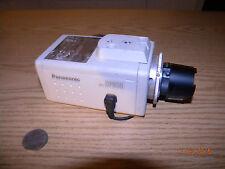 Panasonic CCTV Security Camera BP314 w/ Computar 12mm 1:1.4 Lens