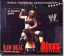 WWE Raw Deal Card Game Divas Overload Booster Box. Comic Images Factory Sealed