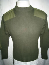 MITTS NITS INC.DSCP VALOR COLLECTION MILITARY SERVICE 100% WOOL SWEATER 36 USA