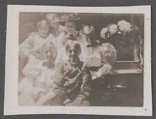 OLD 1896 KENNEBUNKPORT MAINE PHOTOGRAPH VICTORIAN FAMILY FASHION OF ERA PHOTO