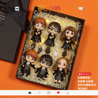 6Pcs Full Set Harry Potter PVC Figure Toy Boxed Christmas Gifts Hermione Malfoy