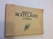 BONNIE SCOTLAND Historical & Picturesque Collection of 33 Photochromic Co. Ltd.