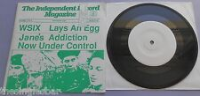 "Jane's Addiction - Early Symptoms 1988 White Label 7"" Fold Out Sleeve"
