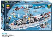 Woma Sea Strength Kampfschiff Bausteine Set J5629A
