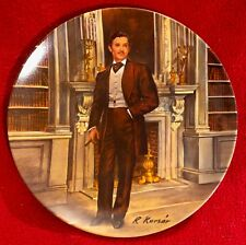 "1981 ""Rhett"" Knowles China Collectible Plate ""Gone With the Wind"" Series #1485I"