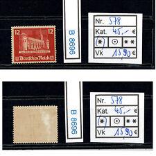 (B8696) DR Nr. 578 (*)  Blockmarke