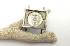 Vintage Omega Wristwatch Steel Case, Ref 111-001, 22x27mm NOS, Swiss (#CM x3365)
