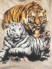 Vtg.2001 KOYOMI HARAI Apple While/Golden Tiger Rare The Mountain T-Shirt USA XL