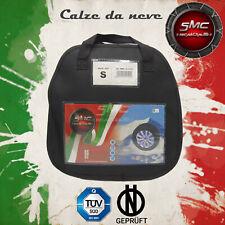 CALZE DA NEVE OMOLOGATE SMC PER PNEUMATICI 195/45 R 16 TAGLIA S