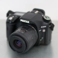Pentax K K200D 10.2MP Digital SLR Camera Black With 35-80mm Lens