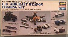 Hasegawa 1:72 Aircraft in Action Series US Aircraft Weapon Loading Set X72-5