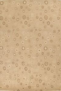 Vegetable Dye Circle Design Nepalese Oriental Area Rug Hand-knotted Wool 9x12 ft