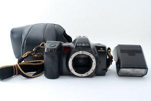 Minolta α8700i 35mm Film Camera Body w/Program 3200i Flash Unit Exc MIJ #5311