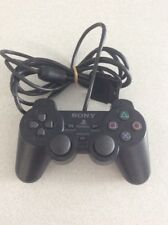 Genuine SonyPlayStation 2 Analogue Console Game Controller Grey Black