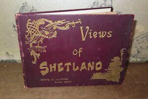 1900 PHOTOGRAPHIC VIEW ALBUM OF SHETLAND BY DUNCAN 24 B/W PHOTOS LERWICK UNST*