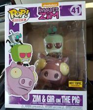 Invader Zim & Gir Ridung Pig Pop