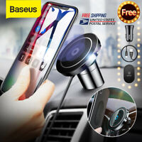 Baseus Qi Wireless Charger Magnetic Car Phone Holder Mount for Samsung iPhone