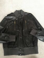 Gucci Mens Leather Jacket