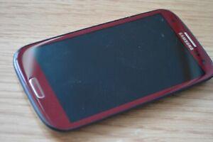 Samsung Galaxy S III GT-I9300 - 16GB - Red + White (Unlocked) Smartphone