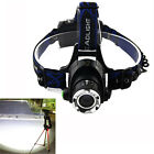2000Lm CREE XM-L T6 LED Zoomable Adjust Focus Headlamp Headlight Head Torch Lamp