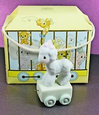 Precious Moments Happy 1st Birthday Little Lamb Porcelain Figurine First #15946