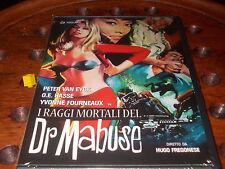 I raggi mortali del dr. Mabuse  Dvd ..... Nuovo