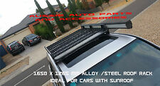 Enclosed Deluxe Steel Roof Rack 1650mm for Toyota LandCruiser Prado 150 Series