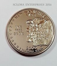 2000 S NEW HAMPSHIRE *PROOF* STATE QUARTER   **FREE SHIPPING**