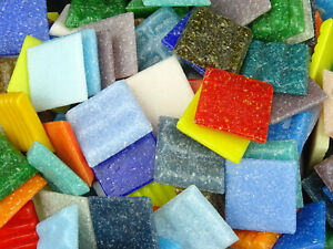 75 Vitreous Mosaic Tile Sheets (OVER 47 COLOURS TO CHOOSE FROM!)