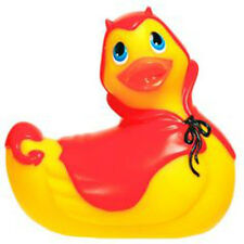 I Rub My Duckie Red Devil Waterproof Body Vibrator Bathtime Massager Travel Size