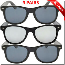 Mens Sunglasses Wayfare Style Retro Look Glasses Womens Mens Sunglass New Lot UV