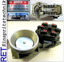 Luftmassenmesser 0438120185 BOSCH mit Mengenteiler 0438100125 Audi VW