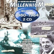 Millennium 1980-1984 (40 Hits) Kim Wilde, Kelly Marie, Blondie, Ultravo.. [2 CD]