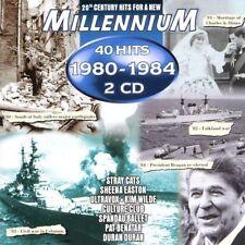 Millennium 1980-1984 (40 Hits) Kim Wilde, Kelly Marie, Blondie, Ultravo.. [2 CD]