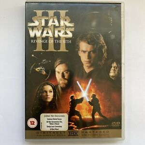 Star Wars Revenge of the Sith DVD Episode III 2-Disc Special Edition Free Post