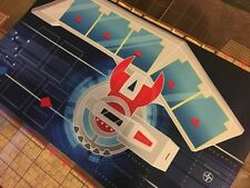 Yu-gi-oh! Duel Disk Battle City Playmat w/Free Cards