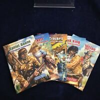 Courageous Heros of the American West set of 5 (A) Juvenile HB N (2013) 181013
