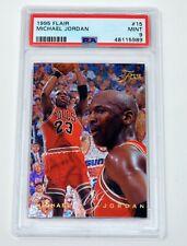 MICHAEL JORDAN MJ 1995-96 FLEER FLAIR #15  PSA 9 MINT BEAUTIFUL CARD