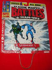 Dr. Doom & Mr. Fantastic CLASSIC MARVEL BATTLES & TEAM-UPS Schylling 2005
