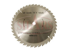 "8-1/4"" 40T Carbide Tipped Circular Saw Blade Wood Cutting 5/8"" Arbor Hole New"