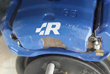 VW Racing Premium Brake Caliper Decals Stickers Golf Lupo Polo R32 Scirocco VWR