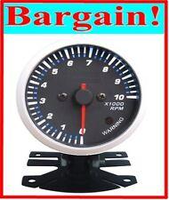 2.5 INCH RPM TACHOMETER TACHO CAR REV GAUGE UNIVERSAL!