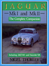 JAGUAR Mk I AND Mk II  COMPLETE COMPANION, 240/340 & DAIMLER V8, NEW BOOK SALE