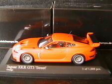 JAGUAR XKR GT3 STREET ORANGE 2008 MINICHAMPS 400081394 1/43 DIE CAST MODEL NEW