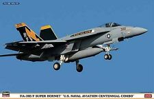 Hasegawa 01963 1/72 F/A-18E/F SUPER HORNET `U.S .NAVAL AVIATION CENTENNIAL COMBO