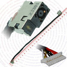 HP Envy 17-R114NF DC Power Jack Port Socket with Harness Cable Connector