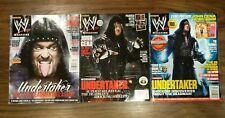 WWE Undertaker Magazine Lot May 2012 2013 2014 WWF WCW ECW TNA ROH NXT NJPW NWA